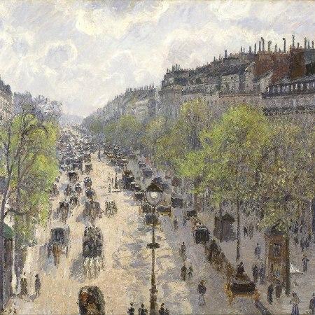 Λεωφόρος Μονμάρτης, Άνοιξα. Camille Pissarro