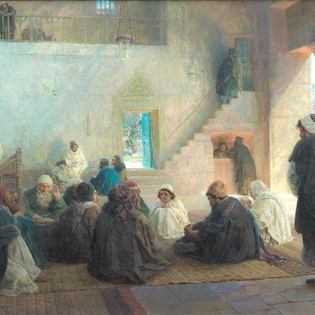 Ο χρηστός ανάμεσα στους διδασκάλους, Vaily Polenov