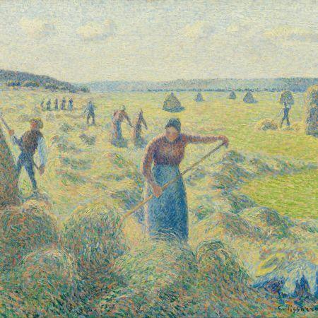 La Récolte des Foins, Camille Pissarro