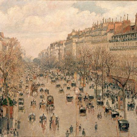 Η Λεωφόρος Μονμάρτης στο Παρίσι, Camille Pissarro