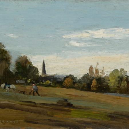 Δουλεύοντας, Berelles, Camille Pissarro