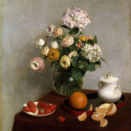 Λουλούδια και Φρούτα, Henri Fantin-Latour