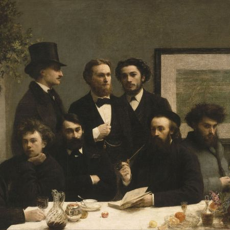 Στο τραπέζι, Henri Fantin-Latour