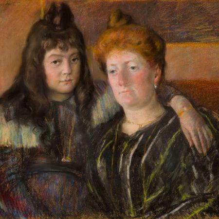 Η κυρία Gaillard και η κόρη της, Μαρία Θηρεσία, Mary Cassatt