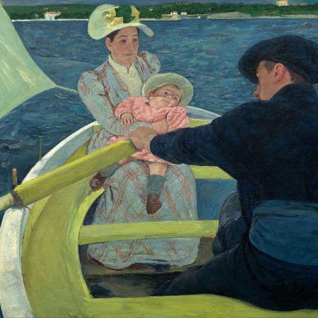 Το πάρτυ σε βάρκα, Mary Cassatt