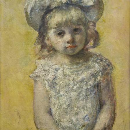 Πορτραίτο ενός κοριτσιού, Mary Cassatt