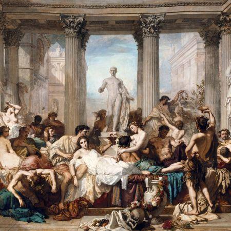 Η παρακμή των Ρωμαίων, Thomas Couture
